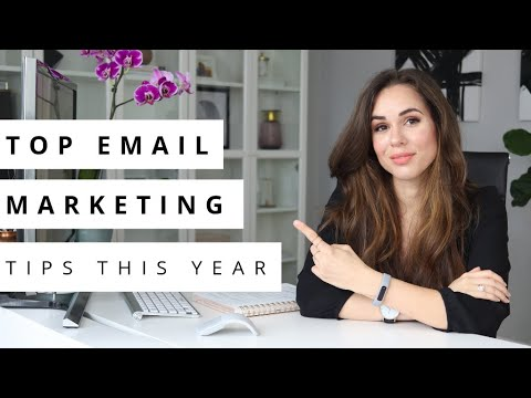 7 Top Email Marketing Tips For 2019 // Kimberly Ann Jimenez