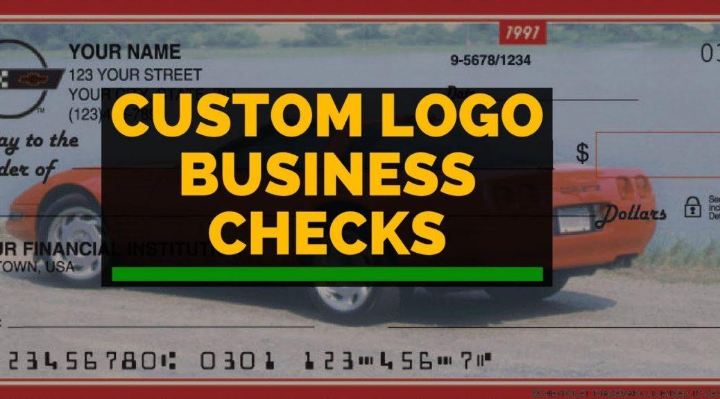Custom Logo Business Checks (Checks unlimited review)