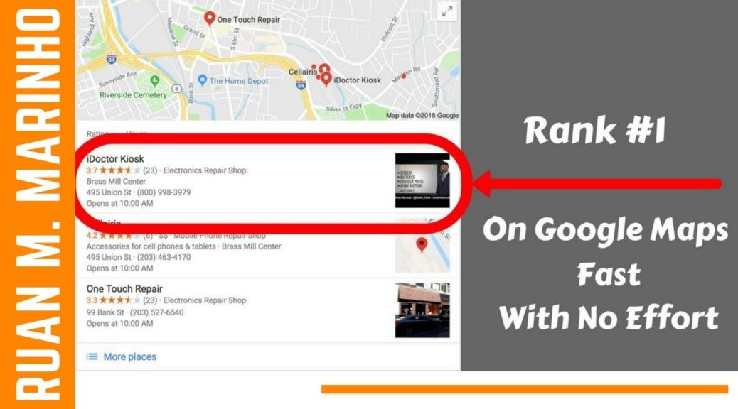 How To Rank Higher On Google Maps 2018 | Google My Business SEO