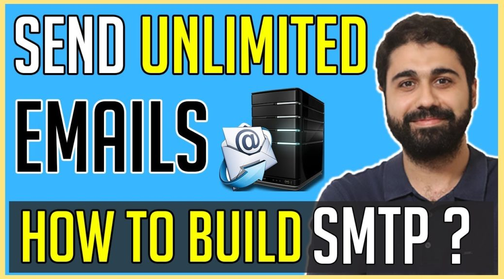 How to Build SMTP Mail Server and Send Unlimited Emails? | Send Bulk Emails