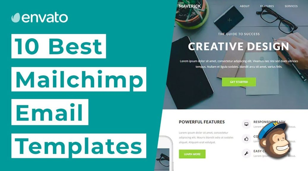 Top 10 Email Marketing Templates for MailChimp [2019]