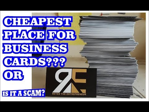500 business cards for only $9.99? Sounds like a scam  Vistaprint review