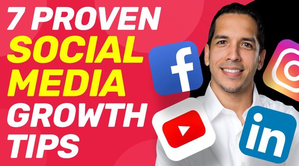 7 PROVEN Social Media Marketing Tips for 2020