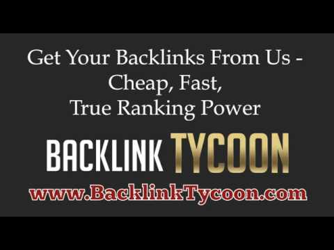 Buy Backlinks - Cheap Reliable Backlinks from the number one backlink provider!