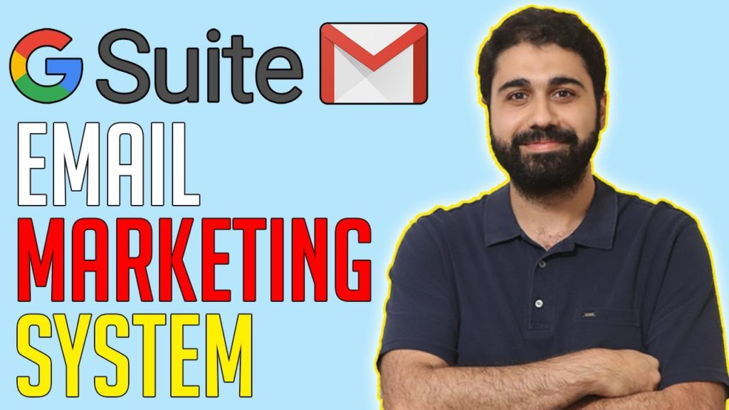 G suite Email Marketing Full System Setup | Send bulk emails using Gmail/G suite.