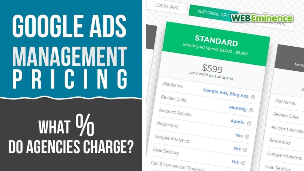 Google Ads Management PRICING & REPORTS - The Landscape and What to EXPECT!