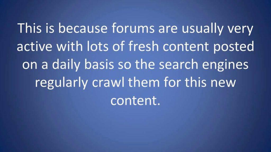 Google Local SEO Q & A - SEO Training Video; How to build forum backlinks