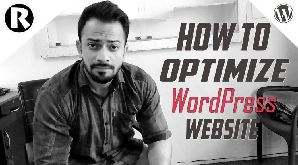 How To Optimize Your WordPress website - WordPress SEO - BOOST Your Google Rankings