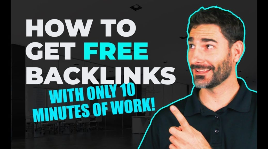 How to Get Unlimited Free High DA Backlinks (Only 10 Min. of Work) | Tyler Horvath