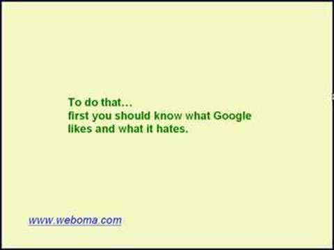 How to Improve and Keep Your Google Rankings