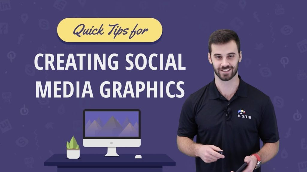 How to Tips for Creating Social Media Graphics - Graphic Design Tutorial