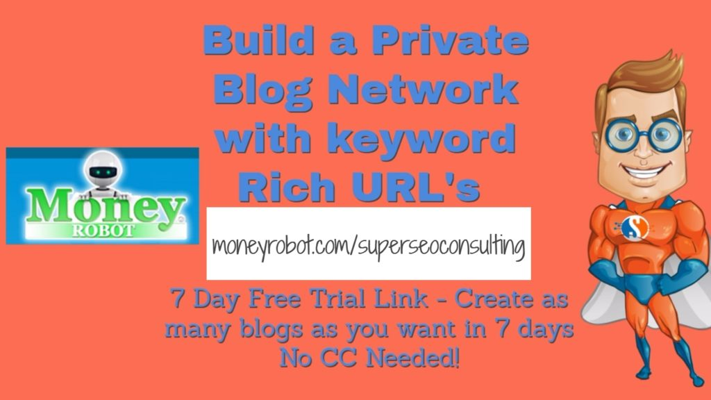 How to build a Local SEO Private Blog Network based on your keywords FREE!