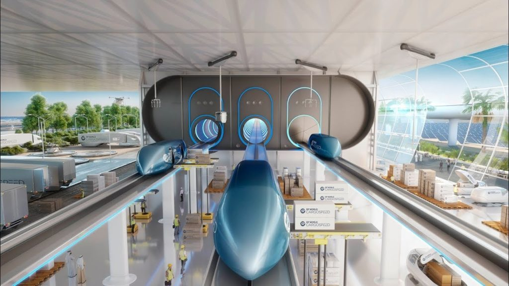 Hyperloop Dubai Vision 2020 : Biggest Revolution In Economy & Technology !