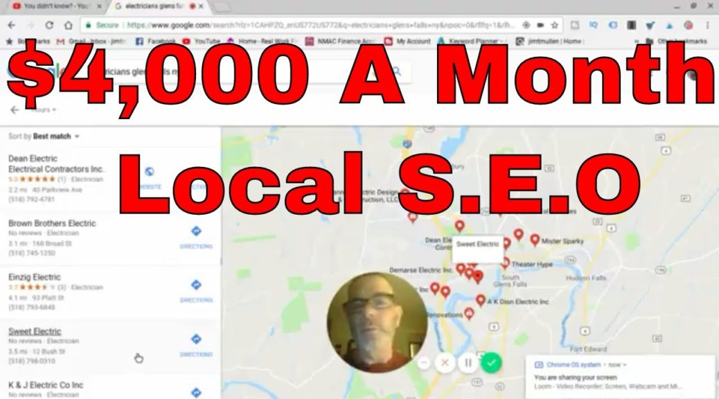 Local S.E.O.-Google My Business-2018- Get Them Verified!