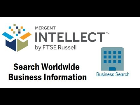 Mergent Intellect Part 2: Business Search