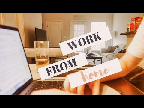 My morning routine: work from home: social media marketing manager
