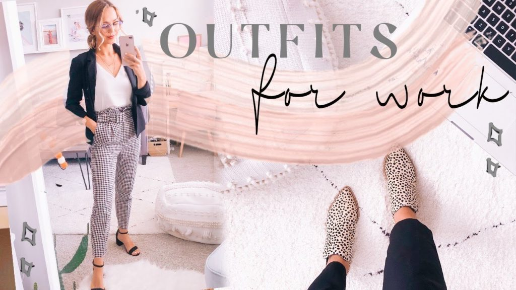OUTFITS OF THE WEEK FOR WORK   Business casual outfit ideas! ✨