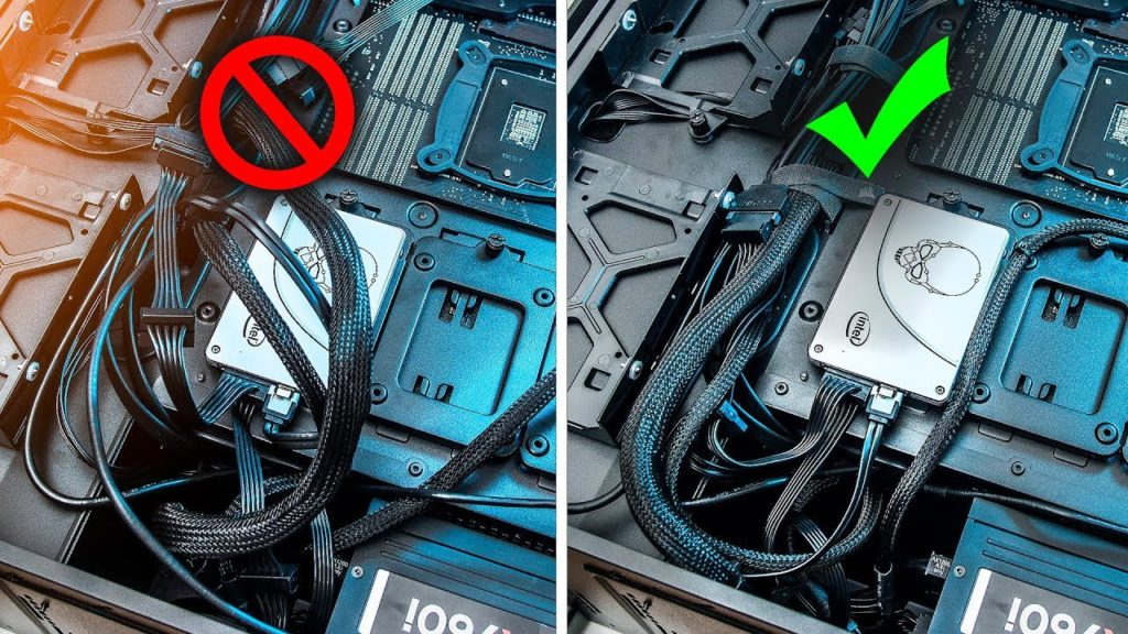 Tips for the PERFECT Cable Management PC Build