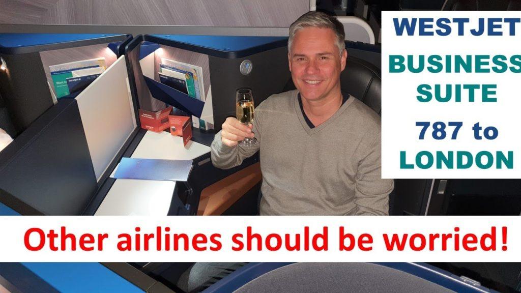 Westjet new 787 Business Class - must try, must fly!