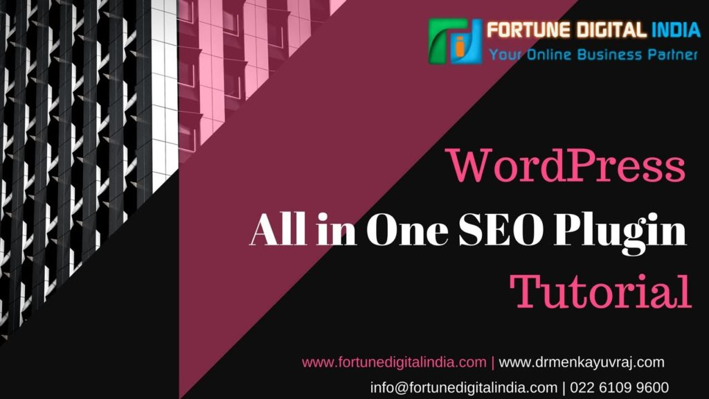 Wordpress All in One SEO plugin to boost your website rank