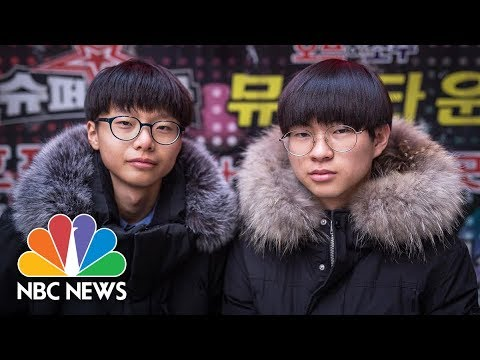 Young North Korean Defectors Find New Life In Modern Seoul   NBC News
