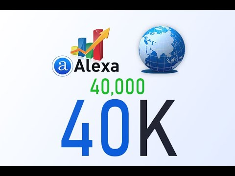 Boost Alexa Rank - We boost improve increase your Global Alexa rank to 40K