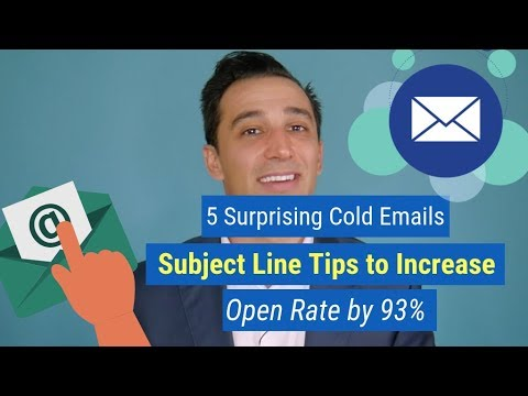 5 Surprising Cold Emails Subject Line Tips to Increase Open Rate by 93%