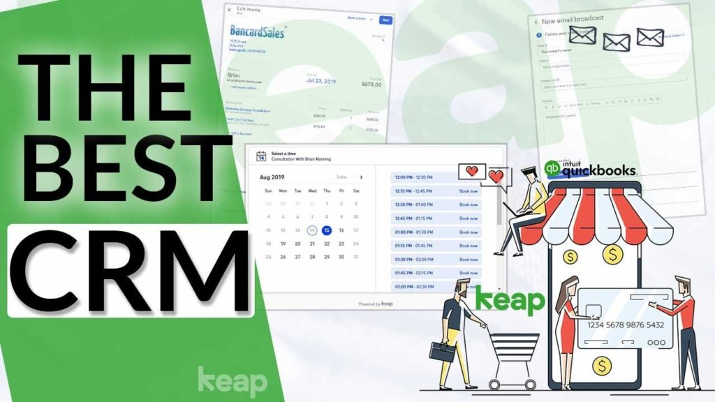 Best CRM System For Small Business - 7 Features Including Email Marketing, Invoicing & Collecting Pa