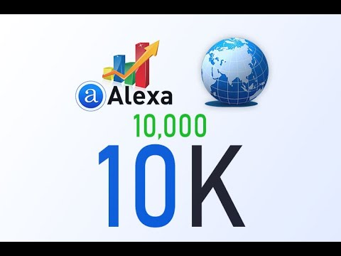 Boost Alexa Rank _We boost improve increase your Global Alexa rank to 10K