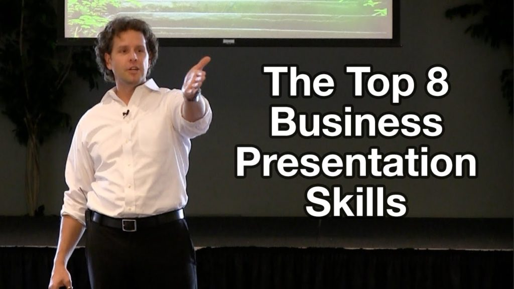 Business Presentation Tips - The Top 8 Business Presentation Skills