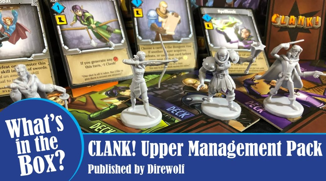 CLANK Upper Management Pack - What's in the Box?
