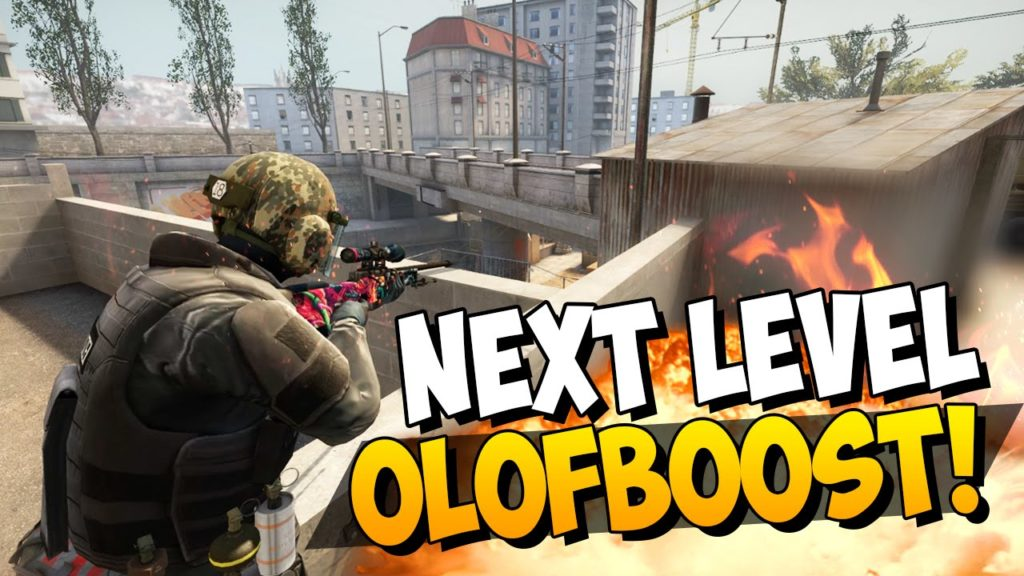 CS:GO - Next Level Olofboost on Overpass - 4-Man-Tower Boost