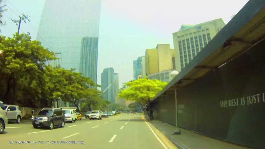 Drive Around Roxas Triangle and Park Central Towers Site
