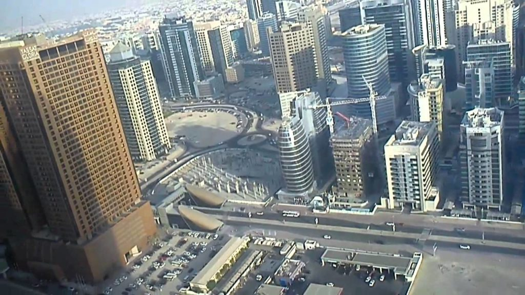 Dubai - View from Business Central Tower