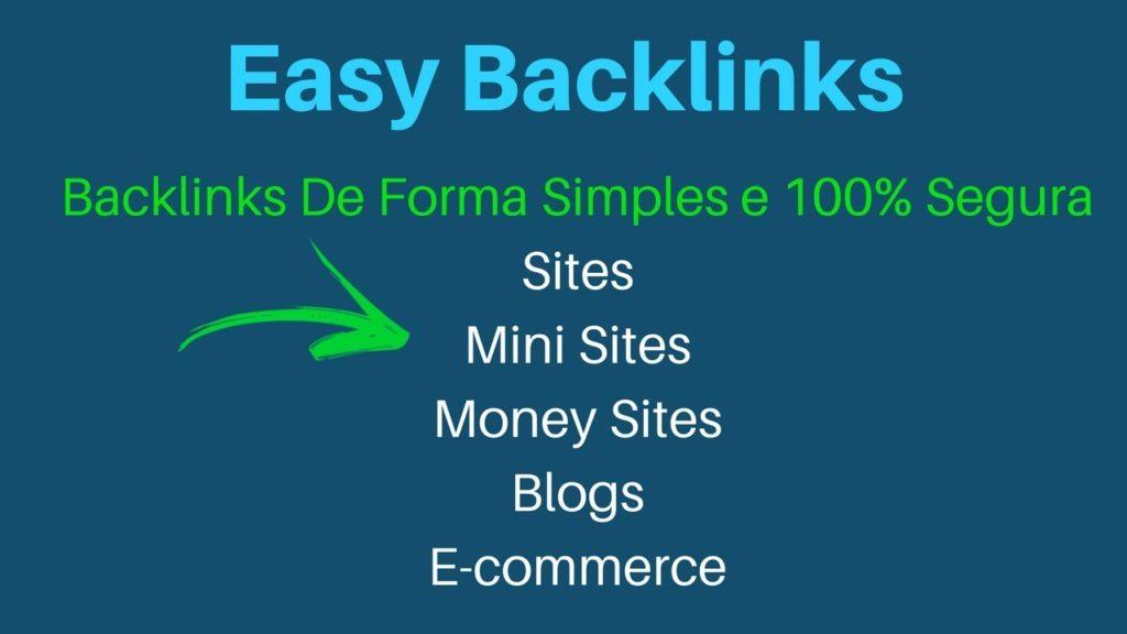 Easy Backlinks - Como usar o easy backlinks - Por dentro da ferramenta Easy Backlinks