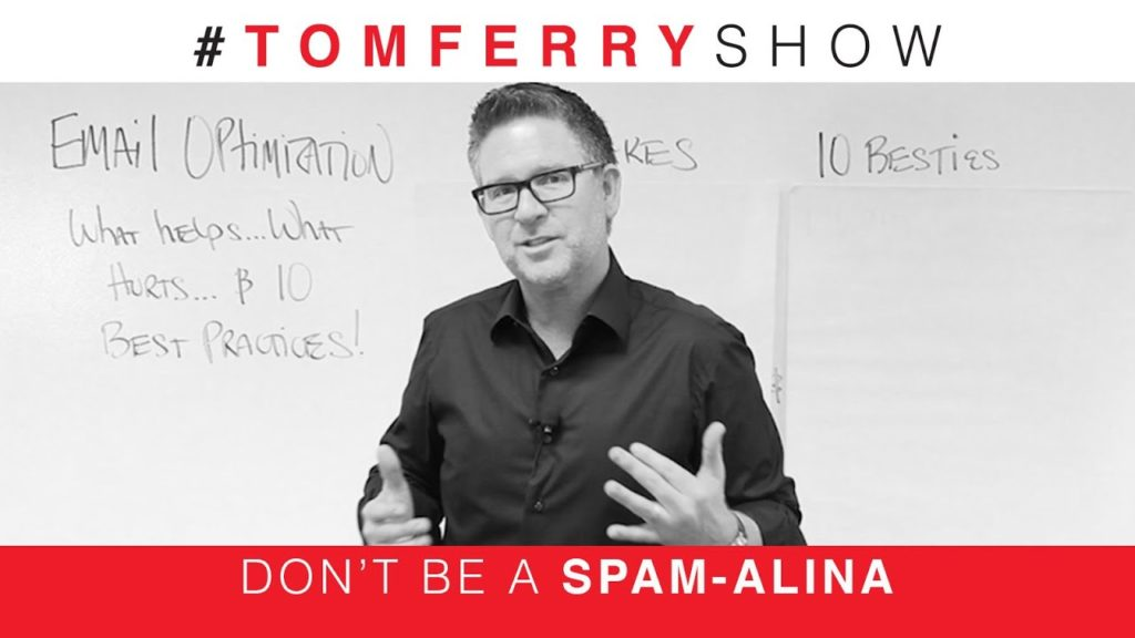 Email Marketing Tips for Real Estate Pros | #TomFerryShow Episode 54
