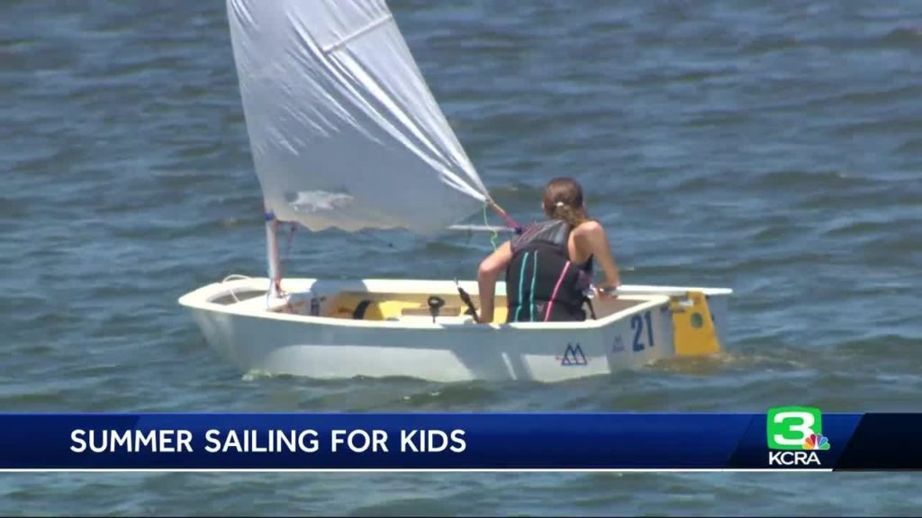 Get off the couch: Stockton kids spend summer learning to sail
