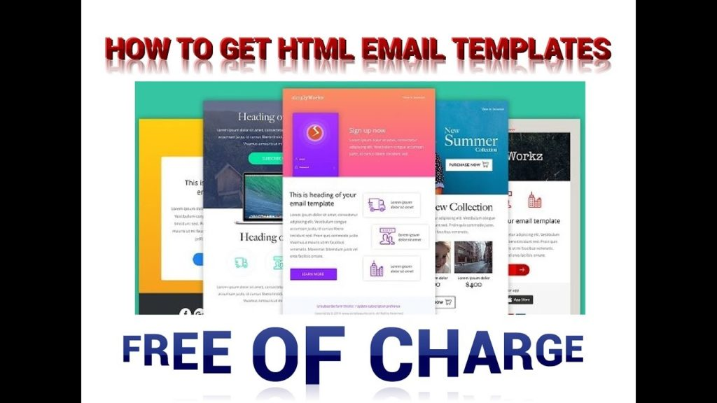 How To Get Responsive Html Email Templates For Free