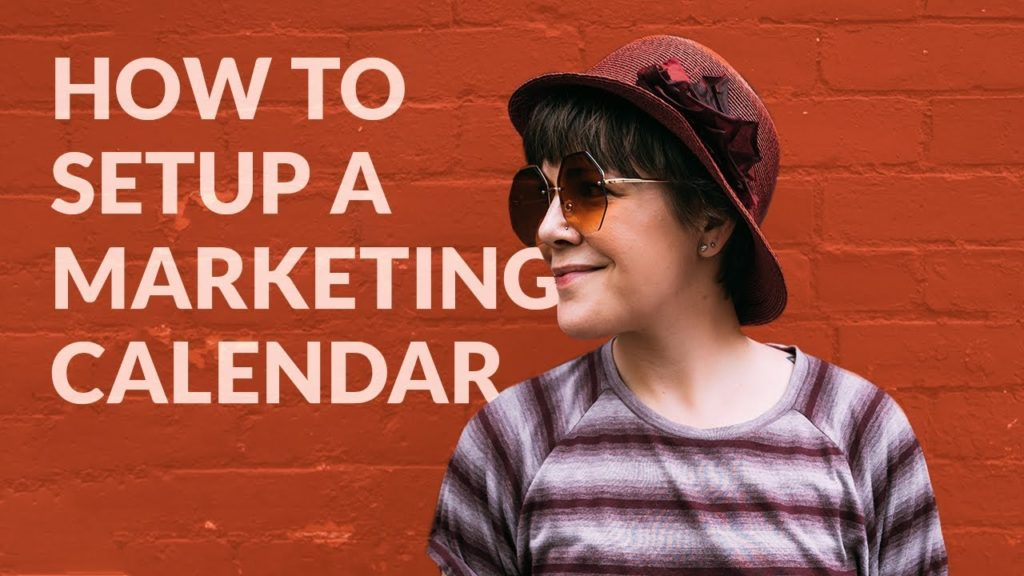 How To Setup A Marketing Calendar For 2018/2019 - FREE Template For Content, Social Media & More!