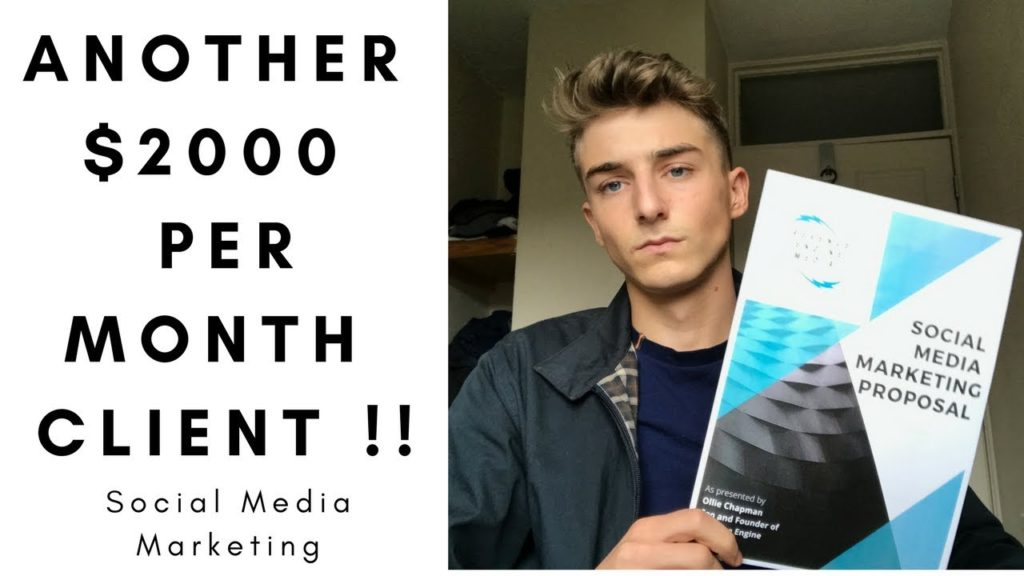 I SIGNED ANOTHER $2000 Per Month Client For My Social Media Marketing Agency !!
