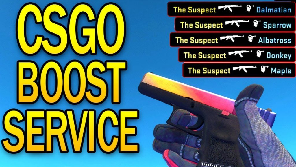 IS THIS REALLY A THING? CSGO BOOSTING SERVICE?!