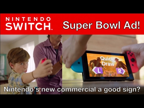 Is the Nintendo Switch Super Bowl Ad a Sign of Nintendo's Stronger Marketing?