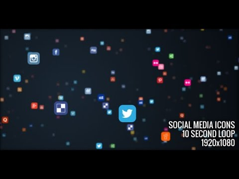 Motion Graphics File : Social Media Icons