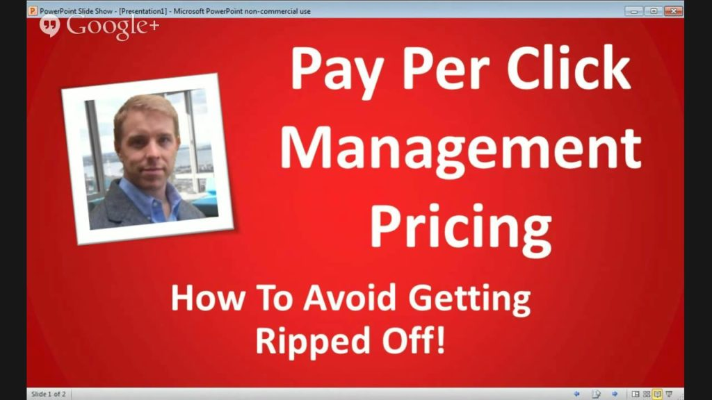 Pay Per Click Management Pricing - Don't Get Ripped Off!