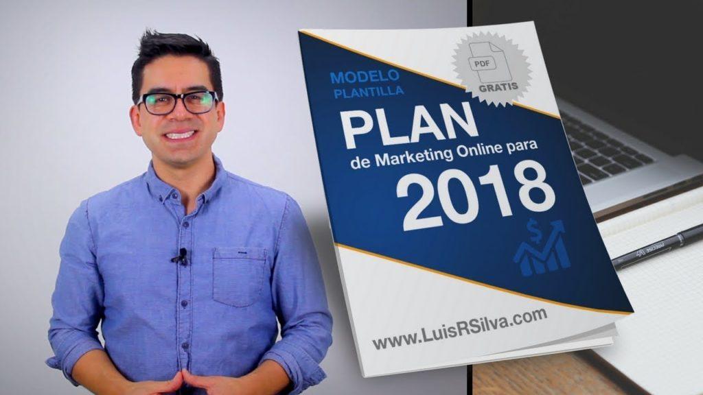 Plan de Marketing Digital - Plantilla Gratis en PDF