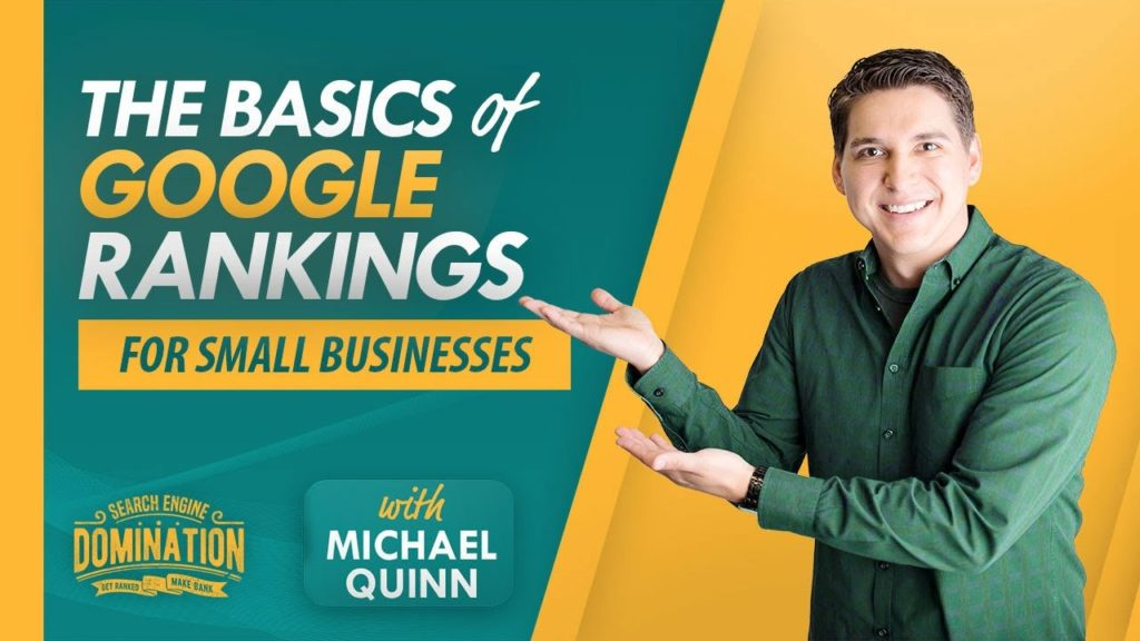 SEO Basics For Small Business - Google Ranking Factors 2019