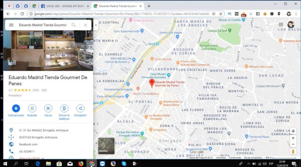 SEO Local | Posicionar Mi Negocio con Google My Business y Geo Tags
