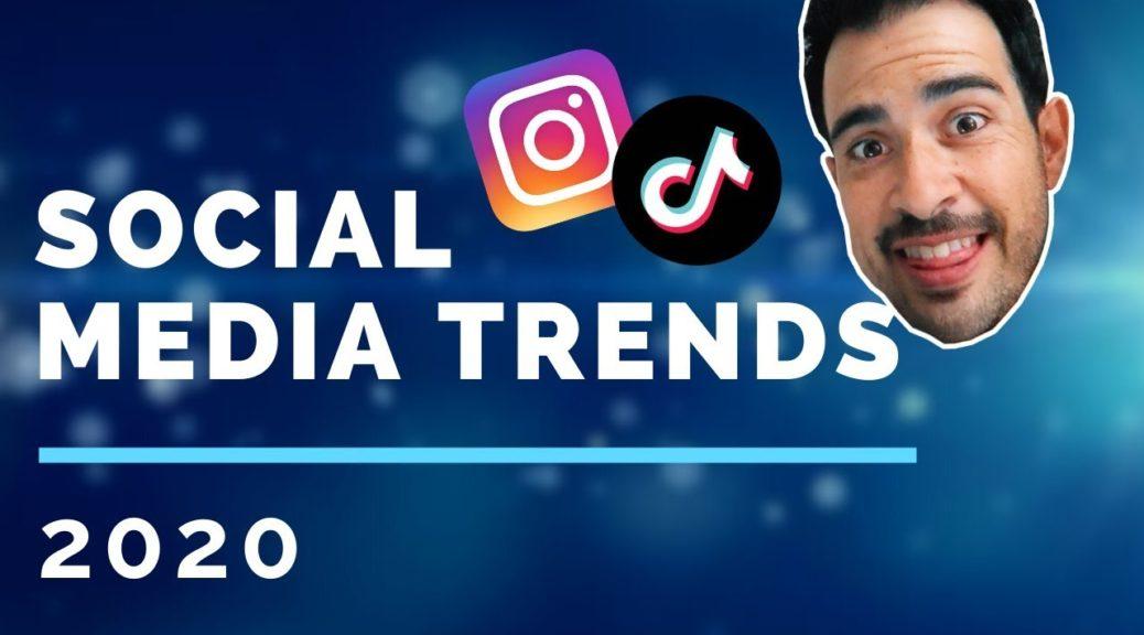 Social Marketing: 5 Social Media TRENDS in 2020!!!