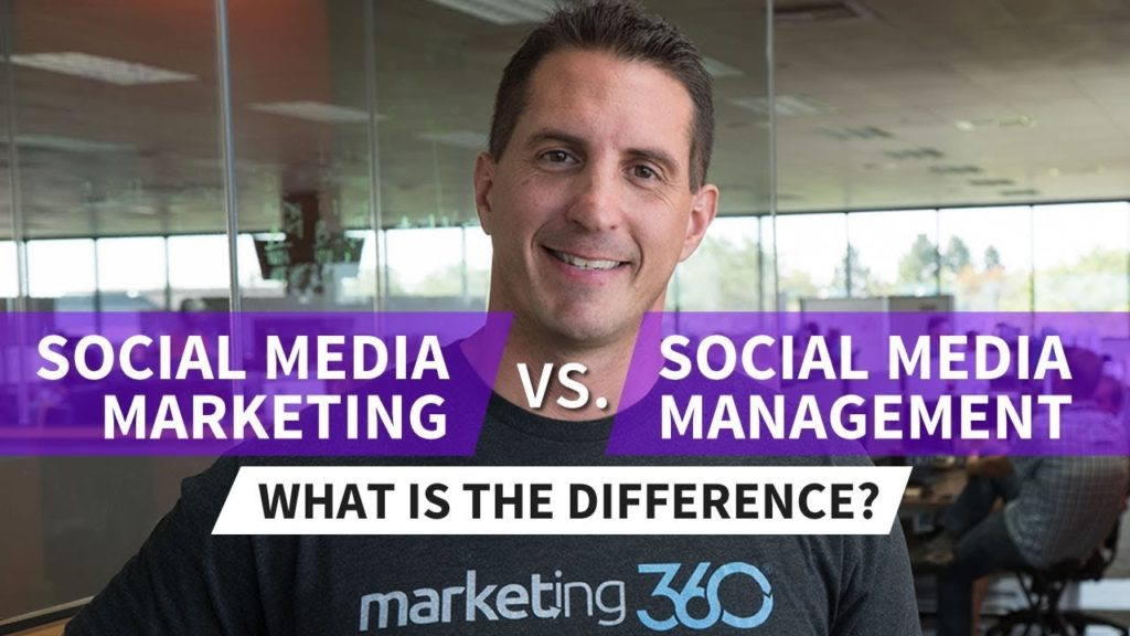 Social Media Marketing vs Social Media Management - What's the Difference?