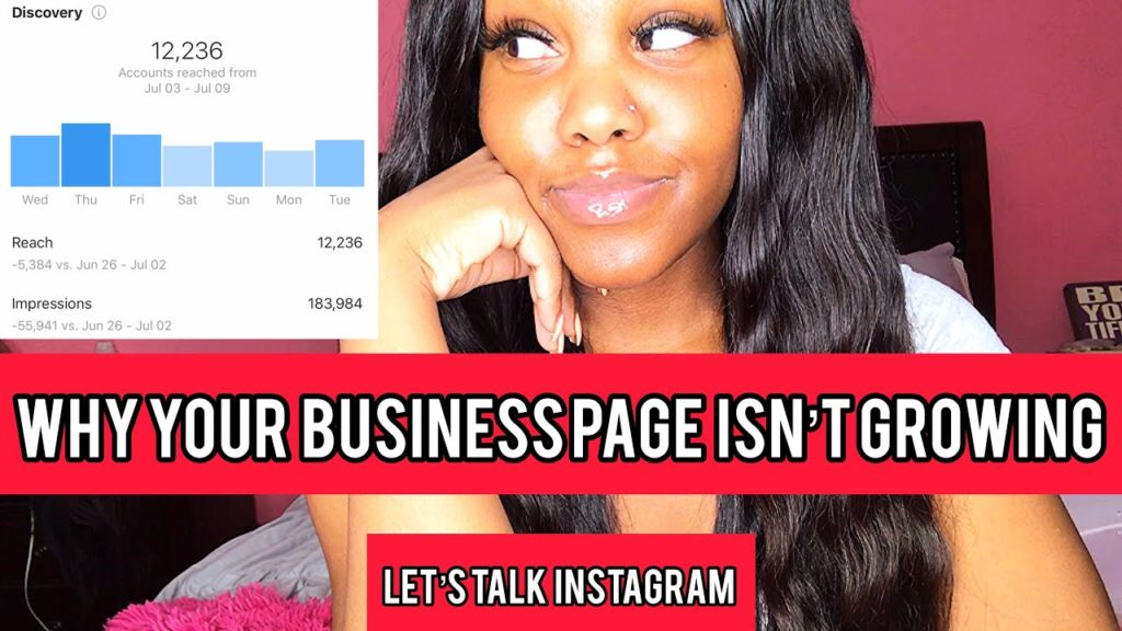 THE REASON YOUR (BUSINESS) INSTAGRAM ISN'T GROWING‼️❌👎🏾 | SOCIAL MEDIA MARKETING STRATEGIES📲